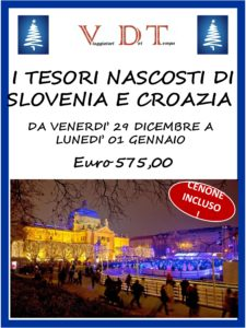I TESORI NASCOSTI DI SLOVENIA E CROAZIA-agenzia viaggi varese