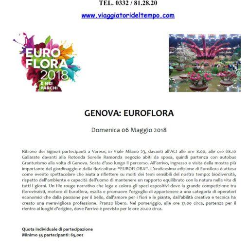 SPECIALE EUROFLORA - PARTENZA DA VARESE - 2